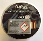 9mm WALTHER RK STAGE Blank, 50/box