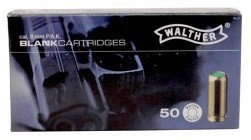 9mm WALTHER PAK STAGE Blank, 50/box