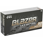 CCI Blazer Brass 9mm Luger Ammo 124 Grain Full Metal Jacket 50bx