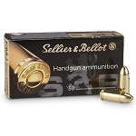 Sellier & Bellot 9mm Para 124gr FMJ 50rd bx